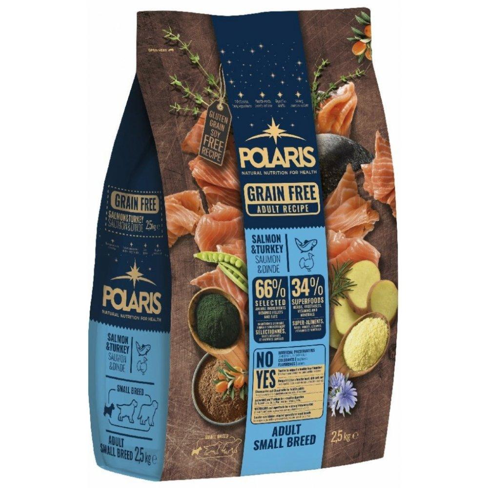POLARIS GF Adult Small Breed Salmon & Turkey 2,5kg