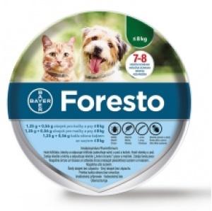 Bayer Foresto antiparazitný obojok pre malé psy do 8kg 38cm
