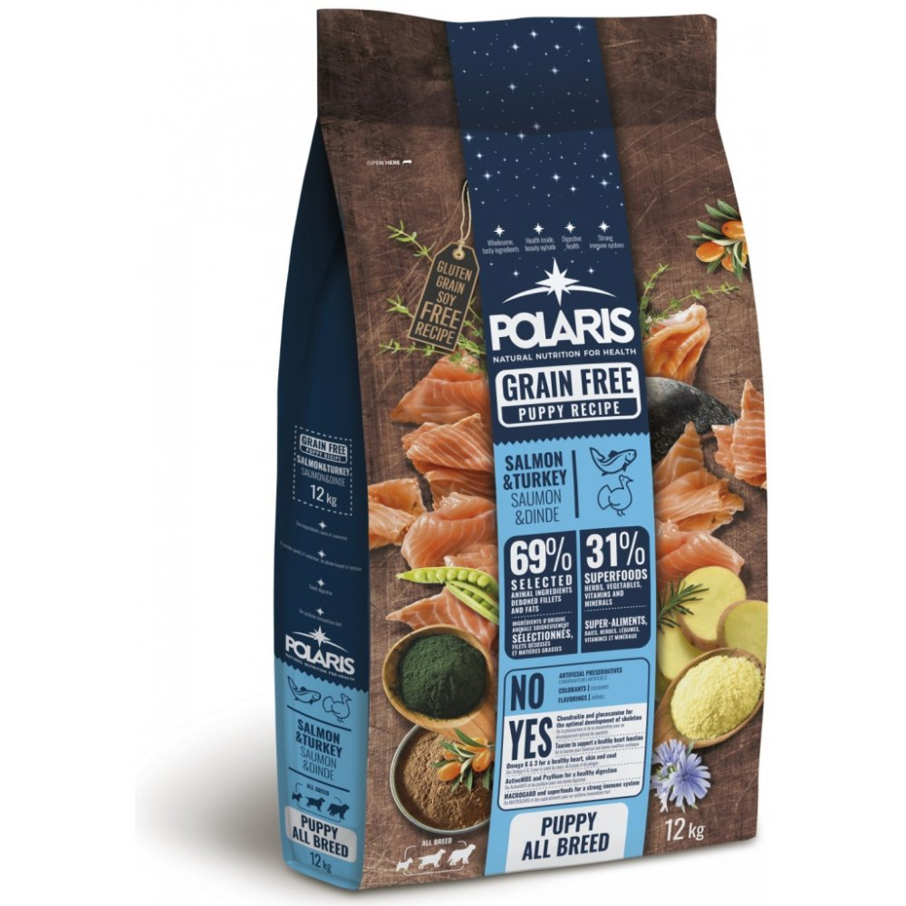 POLARIS GF Puppy Salmon & Turkey 12kg