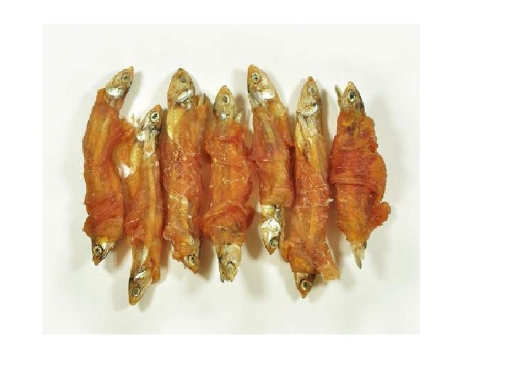 Hanny Food Sušené ryby s kačacím mäsom 500g