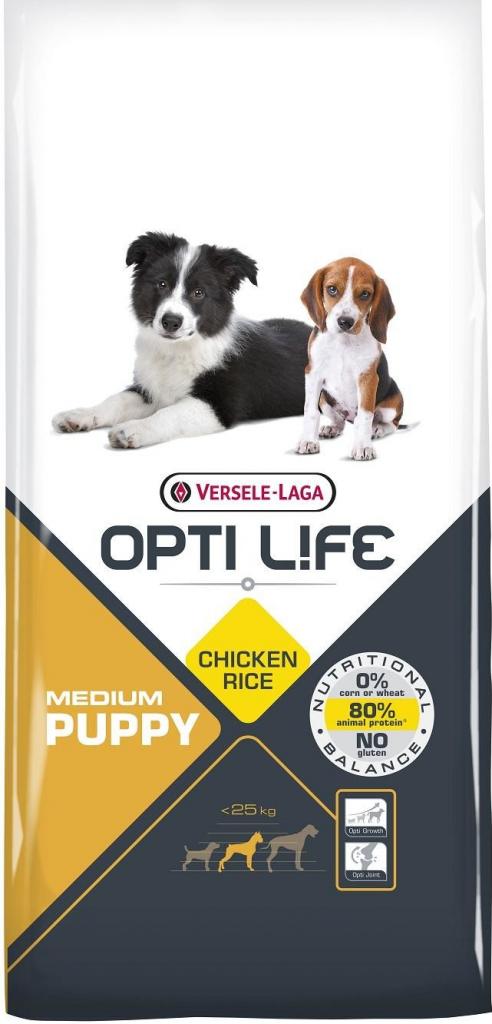 Versele Laga Opti Life Puppy Medium 12,5 kg