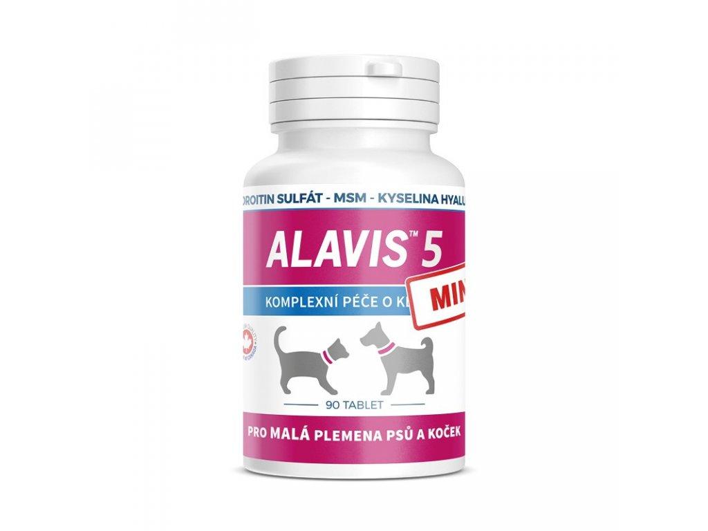 ALAVIS 5 Mini pre psov a mačky 90 tbl.