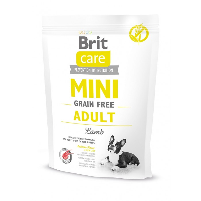 BRIT Care dog MINI Grain free Adult Lamb 400 g