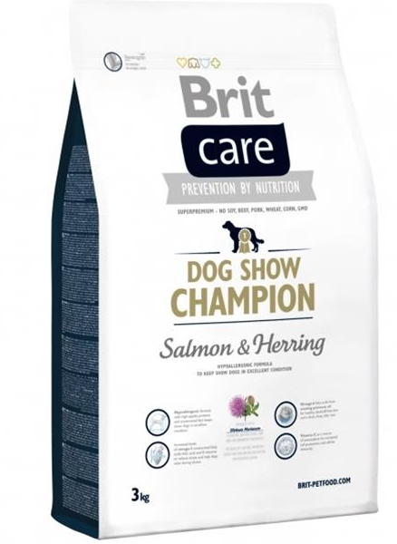BRIT Care dog Show Champion Salmon & Herring 3 kg