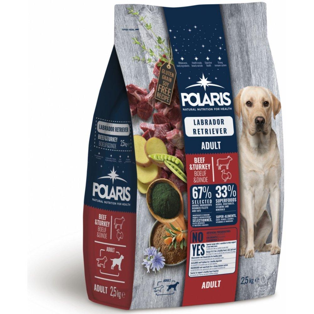 POLARIS dog Labrador Retriever Adult Beef&Turkey 2,5kg
