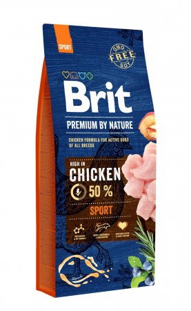 Brit Premium by Nature dog Sport 15 kg