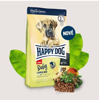Happy Dog Supreme Young Baby Giant Lamb & Rice 15 kg