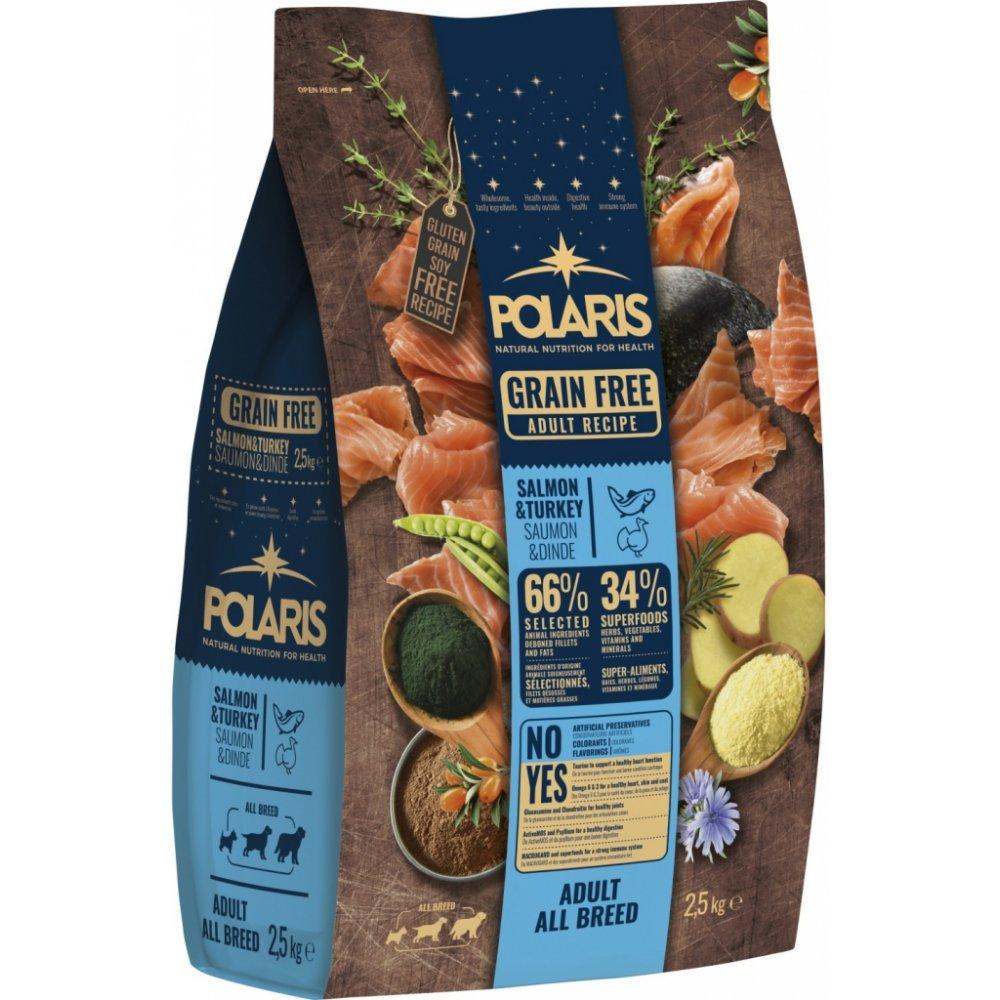 POLARIS GF Adult Salmon & Turkey 2,5kg