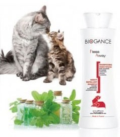 Šampón BIOGANCE Fleas Away Cat 250 ml
