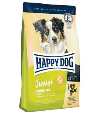 Happy Dog Supreme Young Junior Lamb & Rice 10 kg