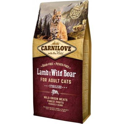 Carnilove Lamb & Wild Boar for Adult Cats – Sterilised 2kg
