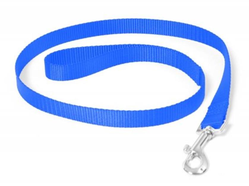 Vodítko DUVO+ Nylon 120 cm/15 mm - Modré