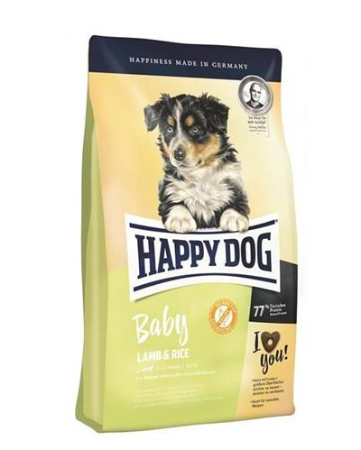 Happy dog Supreme Young Baby Lamb & Rice 4 kg