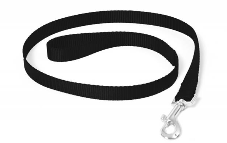 Vodítko DUVO+ Nylon 120 cm/15 mm - Čierne