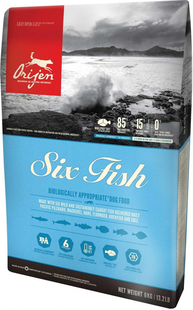 Orijen Dog 6 Fish 2 kg