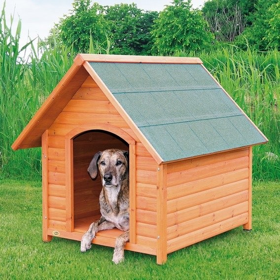 Búda pre psa, drevená Trixie M 77x82x88 cm