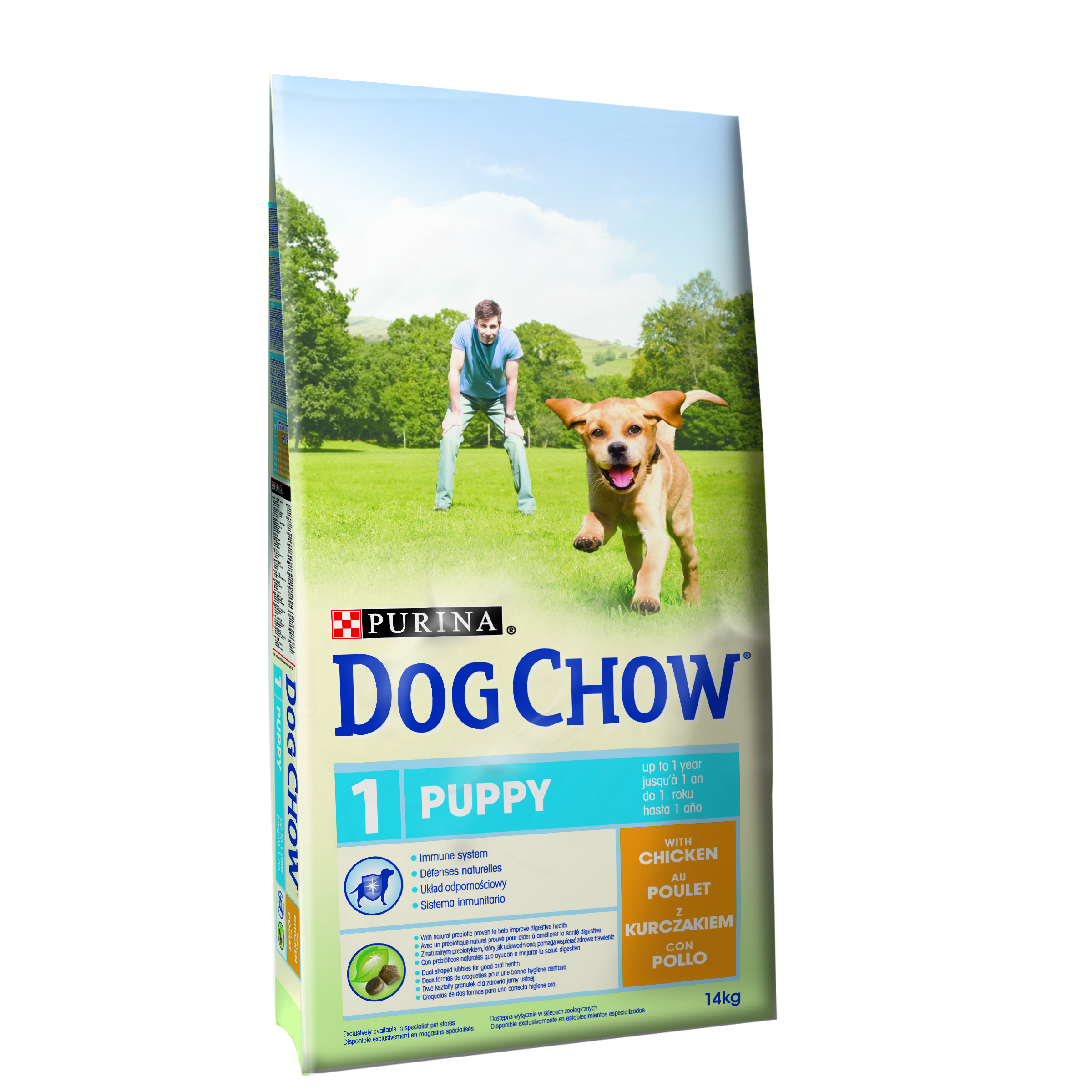 Purina Dog Chow Puppy Chicken 14 KG
