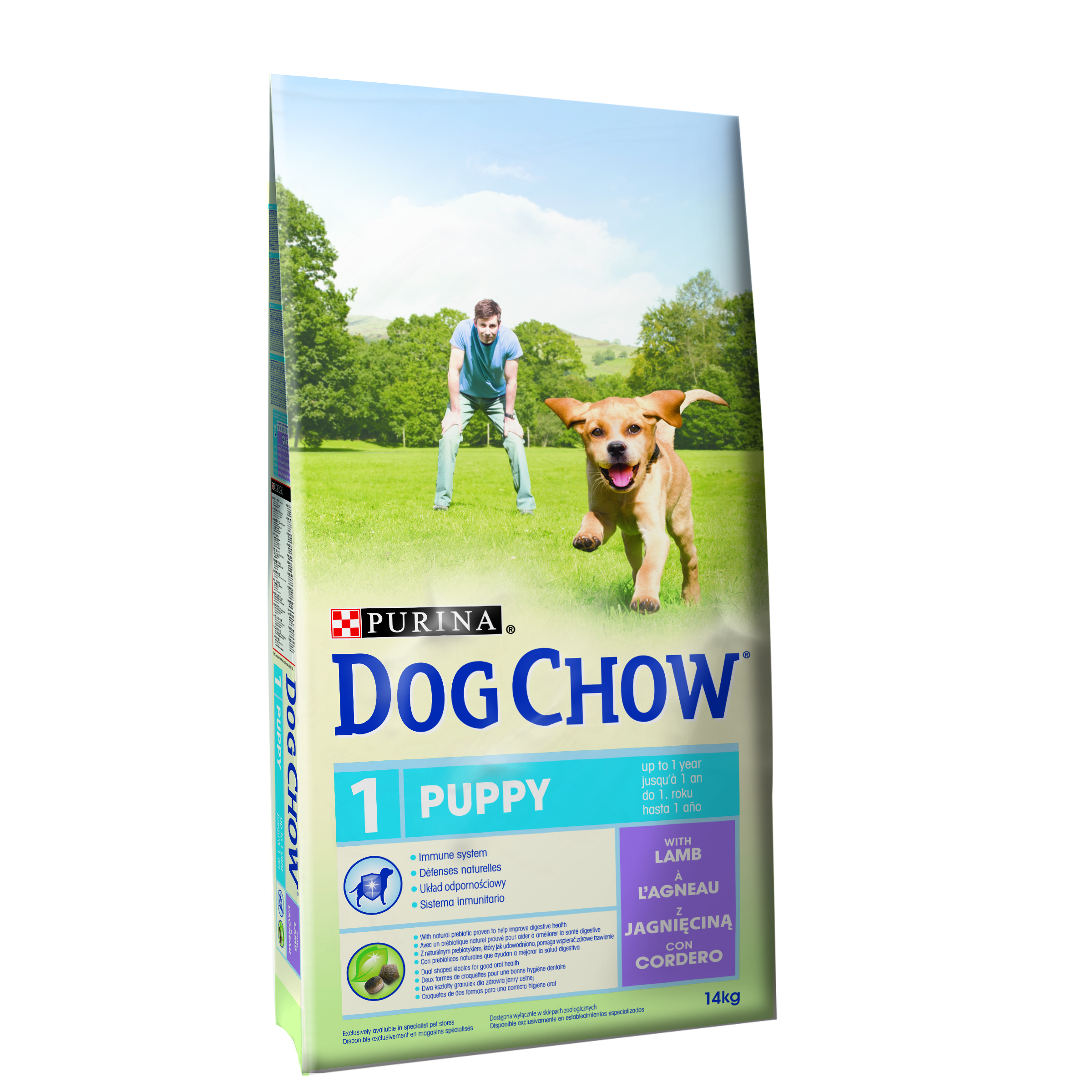 Purina Dog Chow Puppy Lamb&Rice 14 Kg