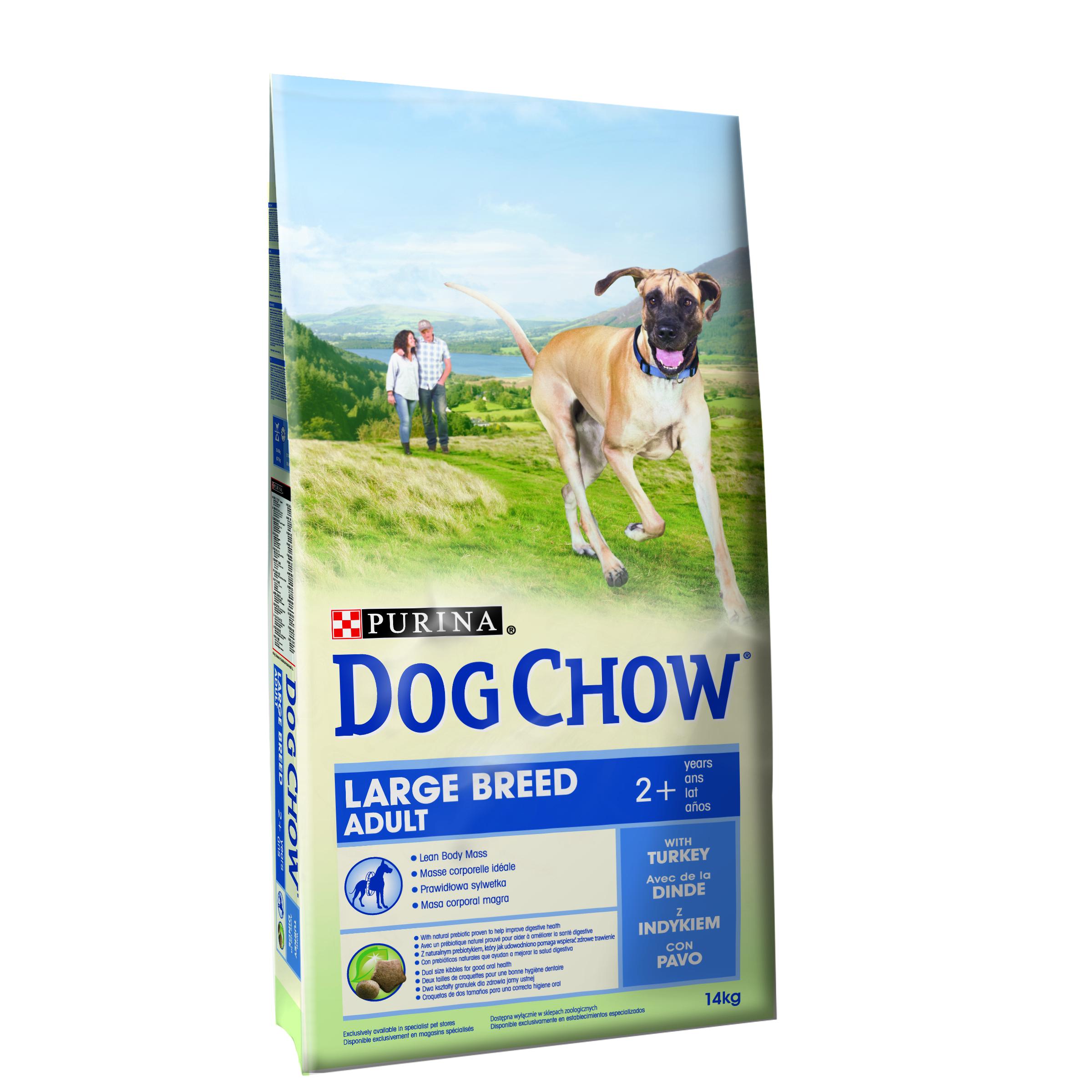 Purina Dog Chow Adult Large Breed Turkey 14 Kg