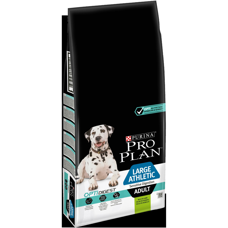 ProPlan MO Dog Opti Digest Adult Large Athletic Sensitive digestion jahňa 14 kg