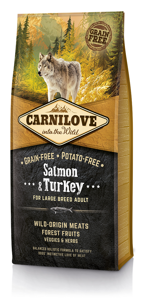 Carnilove Salmon & Turkey for Large Breed Adult 12kg