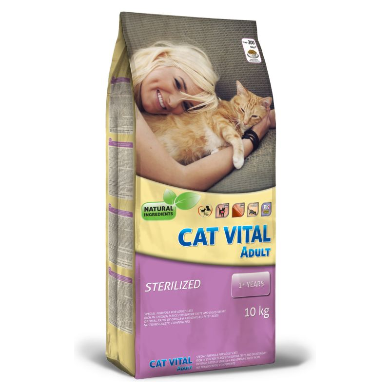 Cat Vital Adult Turkey & Vegetables 10kg