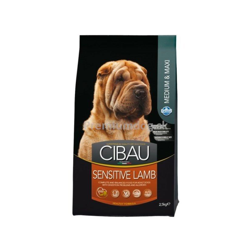 302a262216 CIBAU dog adult sensitive lamb medium   maxi