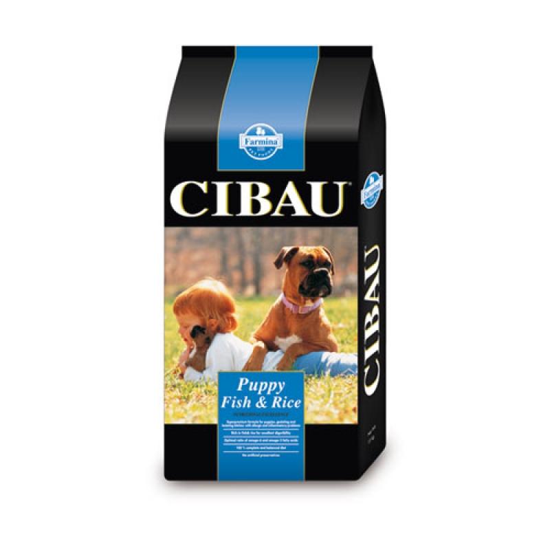 CIBAU dog puppy fish & rice 15 kg