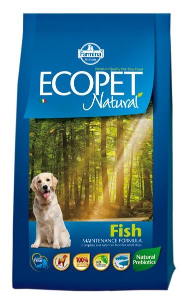 Ecopet Natural Fish medium 2,5 kg