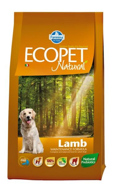 Ecopet Natural Lamb medium 2,5 kg