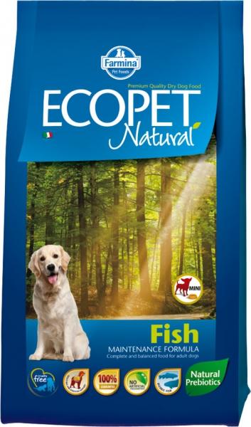 Ecopet Natural Fish mini 2,5 kg