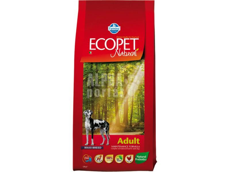 Ecopet Natural Adult maxi 12 + 2 kg ZDARMA