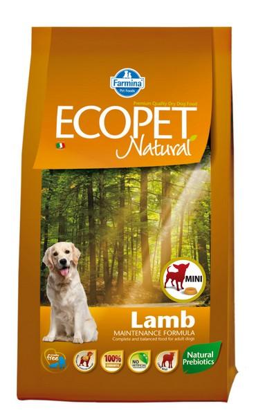 Ecopet Natural Lamb mini 2,5 kg