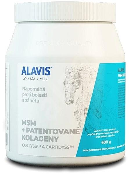ALAVIS MSM+ Patentované Kolageny pre kone plv. 600 g