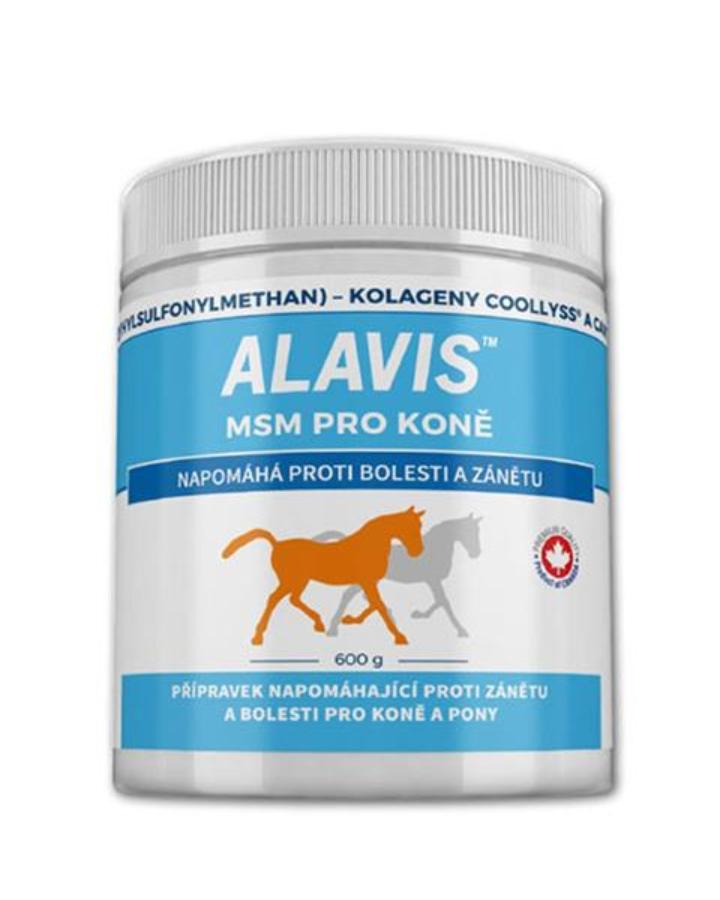ALAVIS MSM pre kone plv. 600 g