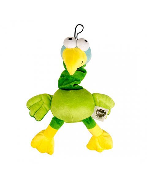 Hračka DUVO+ Plyšový papagáj, pískajúci 30 cm