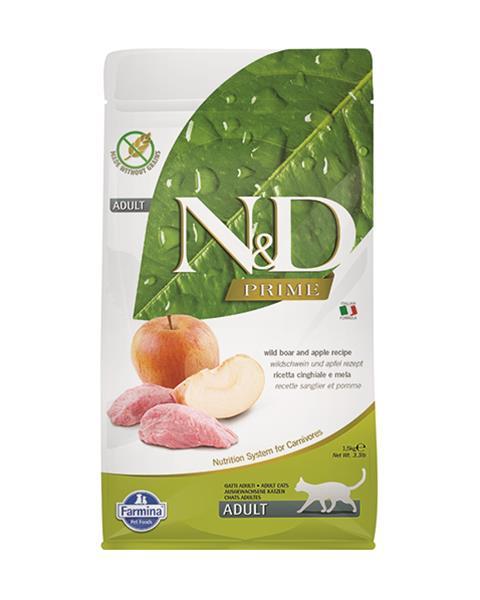 N&D cat Prime (GF) adult boar&apple 5 kg