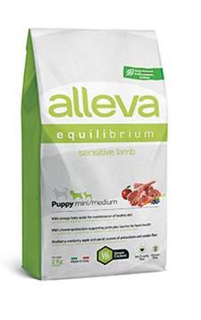 Alleva SP EQUILIBRIUM dog sensitive lamb puppy mini/ medium 2 kg