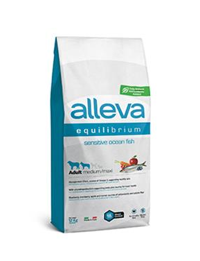 Alleva SP EQUILIBRIUM dog sensitive ocean fish adult medium/maxi 12 kg