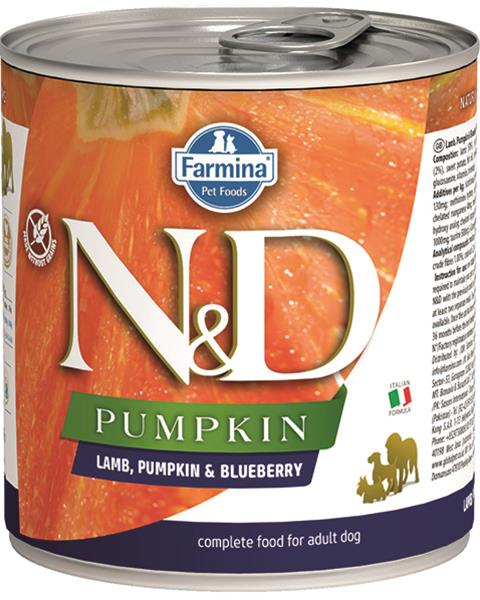 N&D dog PUMPKIN & lamb & blueberry konzerva 285 g
