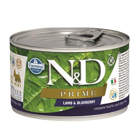 N&D dog PRIME lamb & blueberry konzerva 140 g