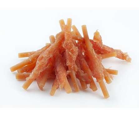 Want Dog Soft chicken wrap fish stick 500 g