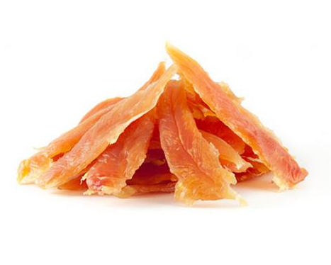 Want Dog Soft chicken jerky slices 500 g