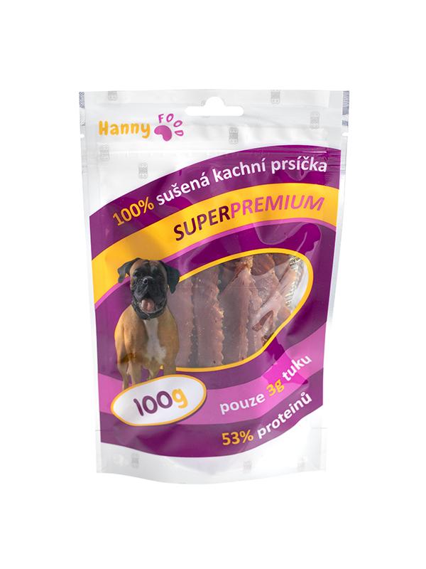 Hanny Food Sušené kačacie prsia 100g