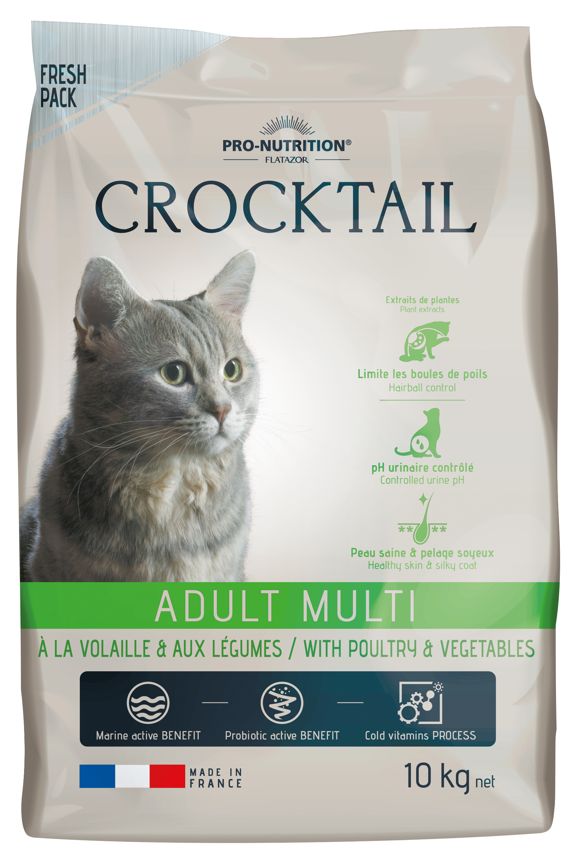 Flatazor Crocktail Multicroquette 10KG