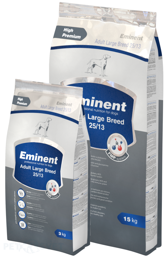 Eminent Dog Adult Large Breed 15+2 kg Gratis