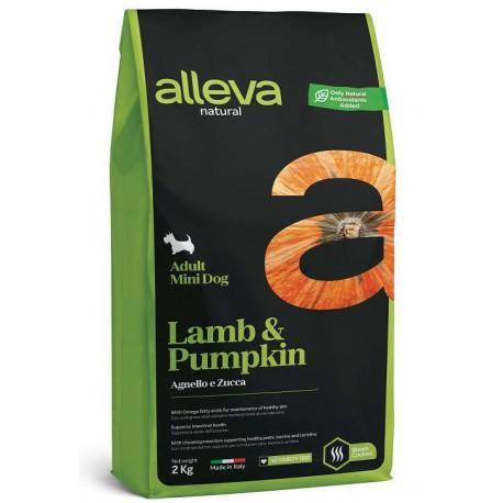 Alleva NATURAL dog lamb&pumpkin adult mini 2 kg