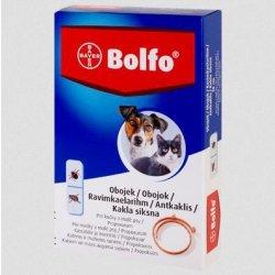 Bayer Bolfo Antiparazitný obojok pre mačky a malé psy 38cm