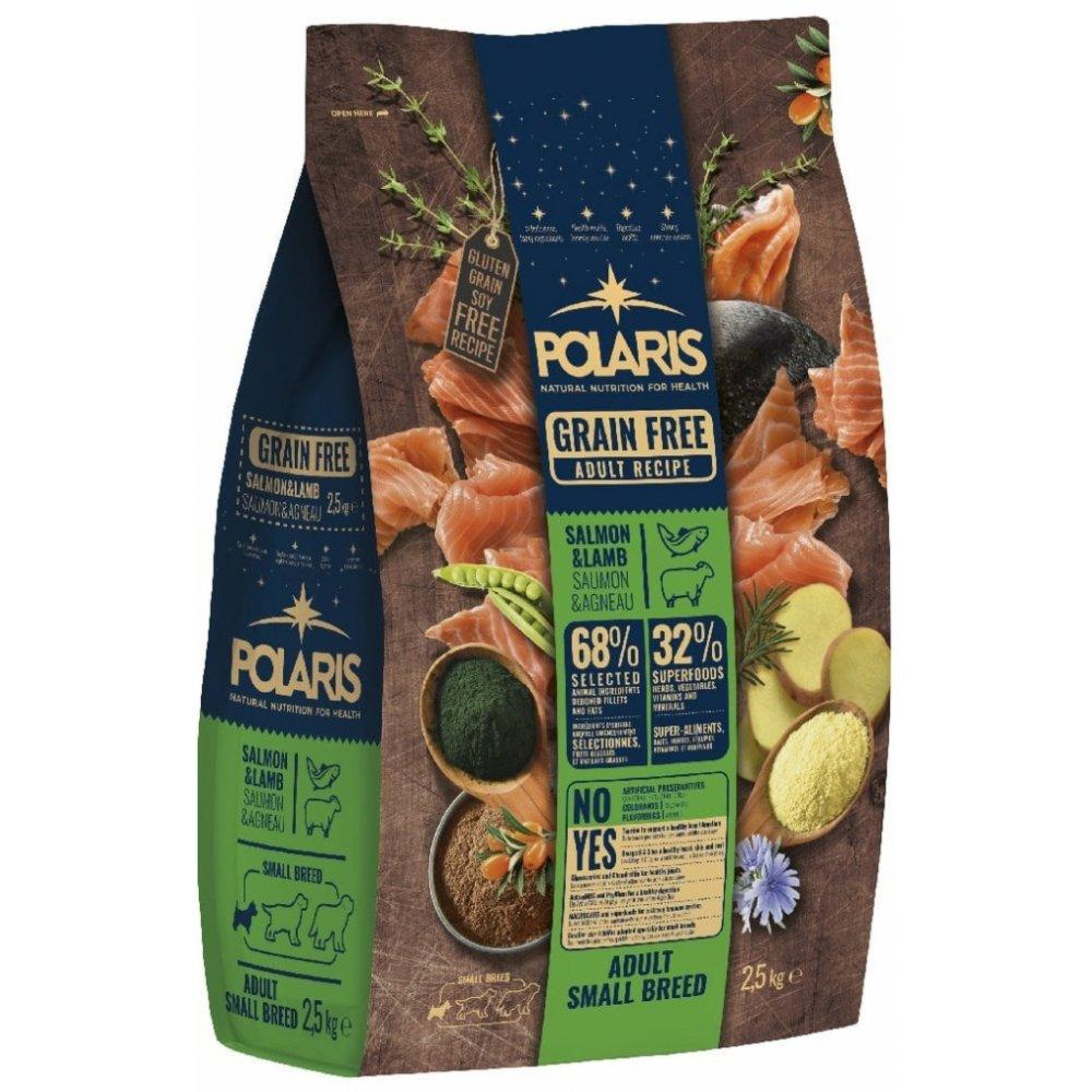 POLARIS GF Small Breed Adult Salmon & Lamb 2,5kg