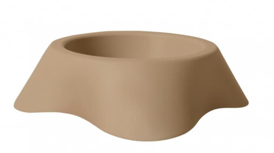 Miska DUVO+ Nuvola plastová 1000 ml 25 x 7,5 cm - Hnedá